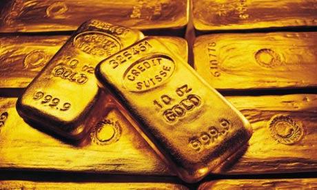 Gold lingots - Lingotes oro